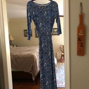 Boston Proper Maxi Dress -10